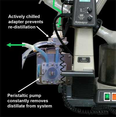 rotovap-peristaltic-pump