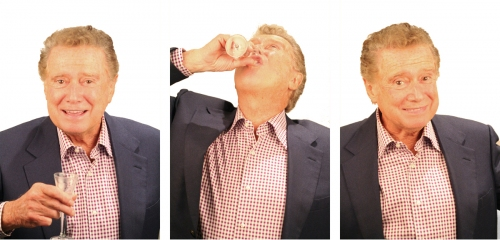 Regis Philbin. C'mon, he's Regis Philbin for Pete's sake.