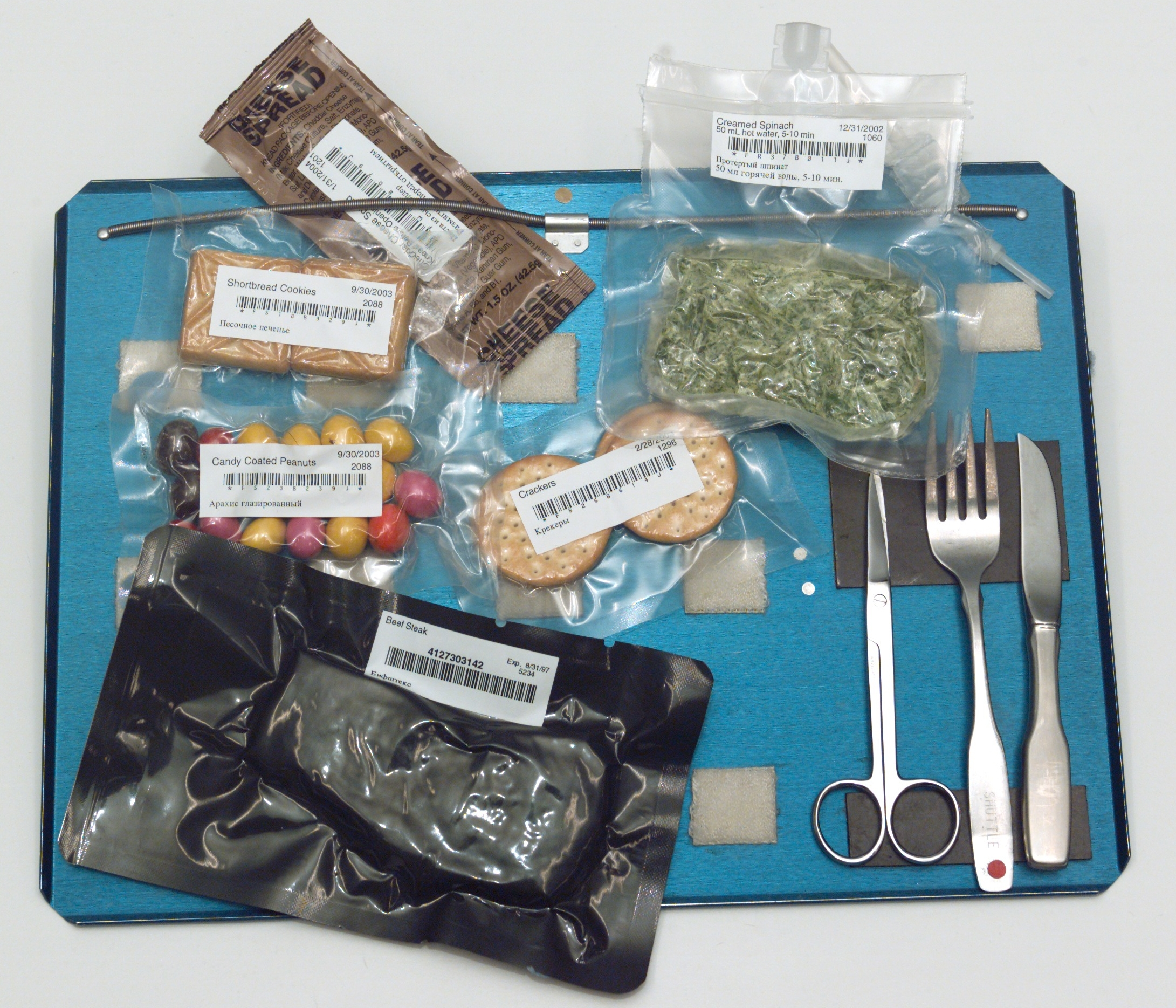 what would astronauts eat in space - photo #35