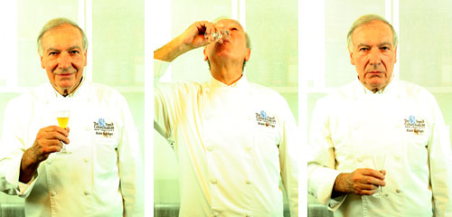 Alain Sailhac. 4 star chef. Formerly of Le Cynge and Le Cirque. Dean Emeritus at the FCI. As real as it gets.