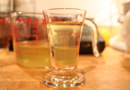 Clarified Orange Juice