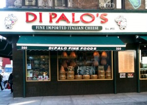 DiPalos: my favorite cheese shop.