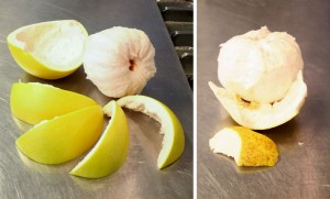 Step 1: Peel your citrus or...