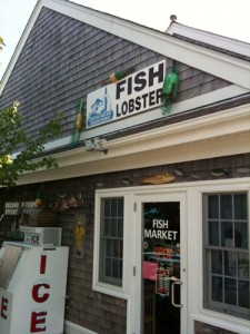 Fish joint in Truro, Ma.
