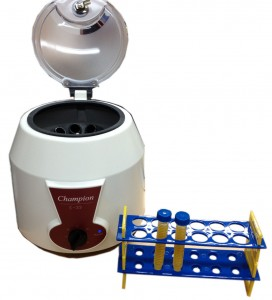 The Champion E-33 centrifuge from Ample Scientific